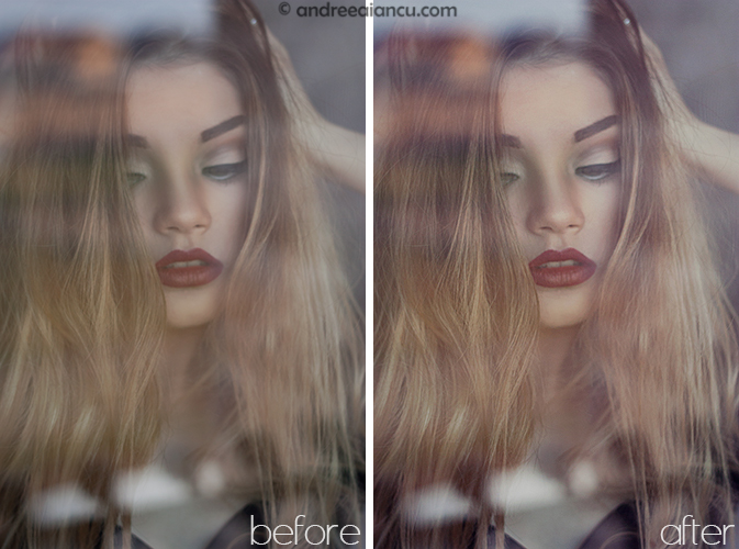 before after curve preset